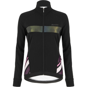 Santini Coral Raggio Winter Jacket Women black